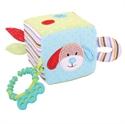 Immagine di cubo in stoffa cane