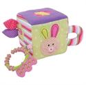 Immagine di cubo in stoffa coniglietta