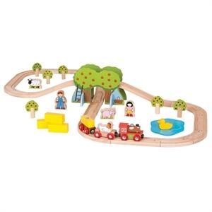 Immagine di pista trenini fattoria