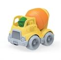 Immagine di camion betoniera con personaggio