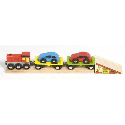 Immagine di trenino porta auto