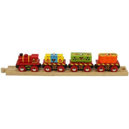 Immagine di trenino merci pericolose