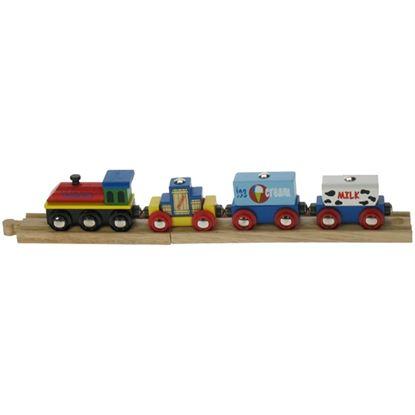 Immagine di trenino merci