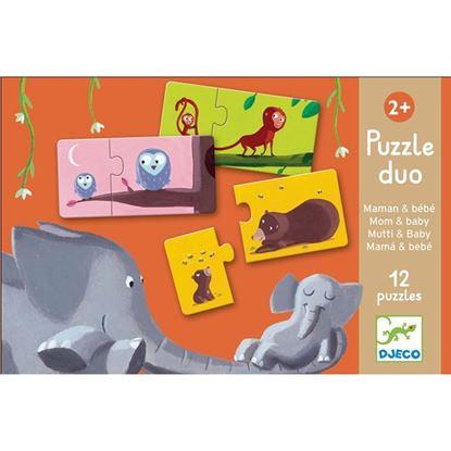 Immagine di puzzle duo mamma e figlio