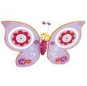 Immagine di figura volante farfalla