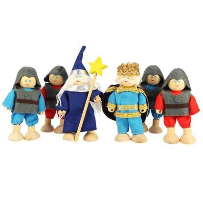 Immagine di personaggi castello dei cavalieri