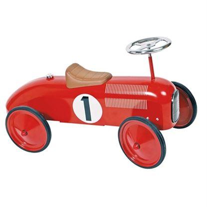 Immagine di auto d'epoca a spinta