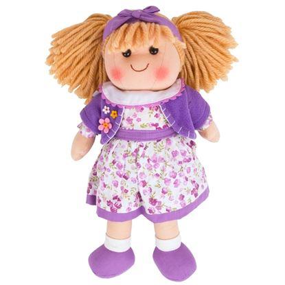 Immagine di bambola di stoffa laura h.35