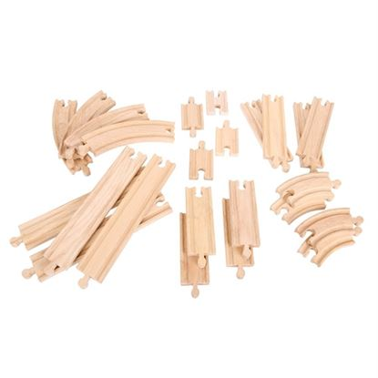 Immagine di set binari in legno