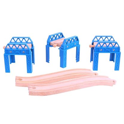 Immagine di set di costruzione ponti