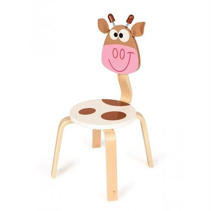 Immagine di sedia per bambini mucca