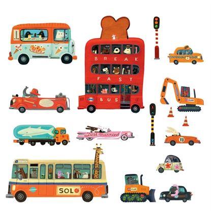 Immagine di adesivo murale veicoli