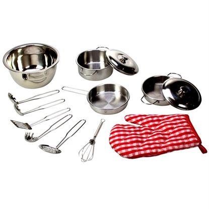 Immagine di pentone e accessori cucinetta