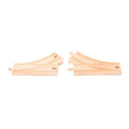 Immagine di scambio in legno curvo