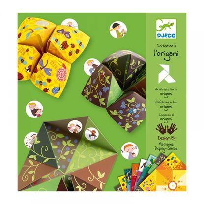 Immagine di origami saliera della fortuna