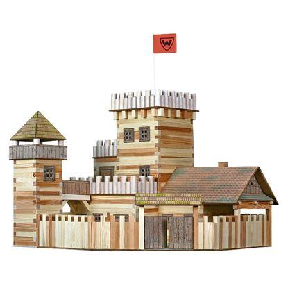 Immagine di castello con cinta
