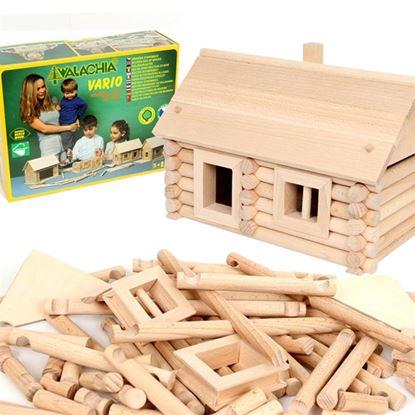 Immagine di costruzioni in legno ad incastro pz 72
