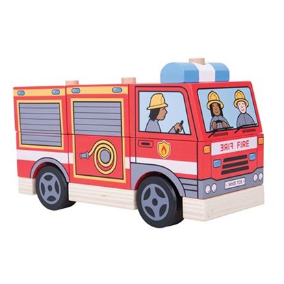 Immagine di camion dei pompieri da costruire