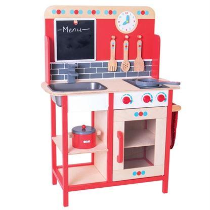Immagine di maxi cucina giocattolo con lavagna