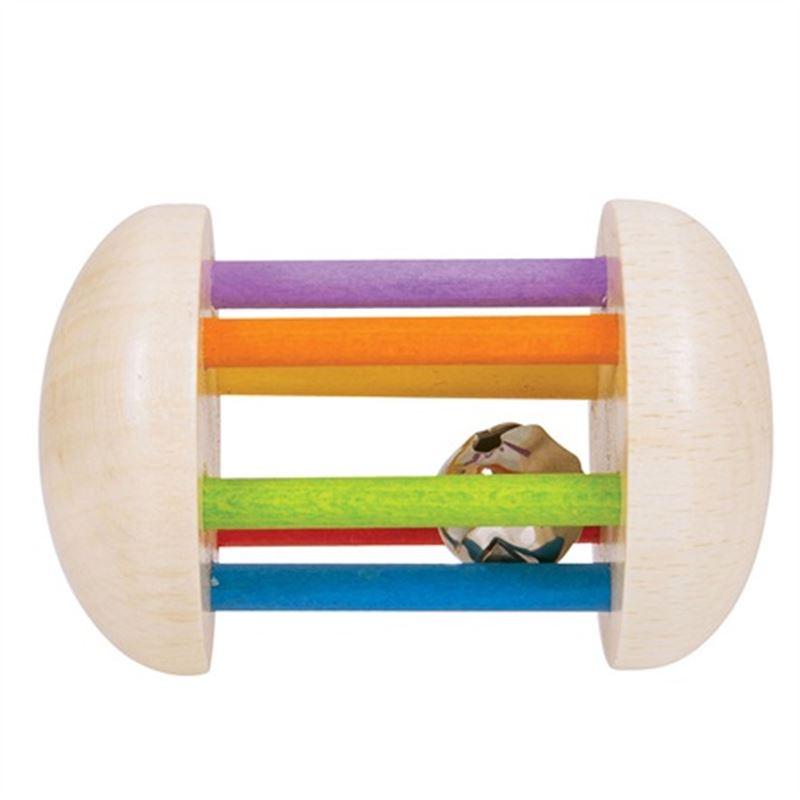 Immagine di sonaglio in legno rotolante