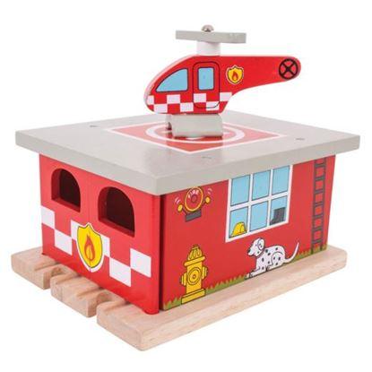 Immagine di stazione elisoccorso dei pompieri