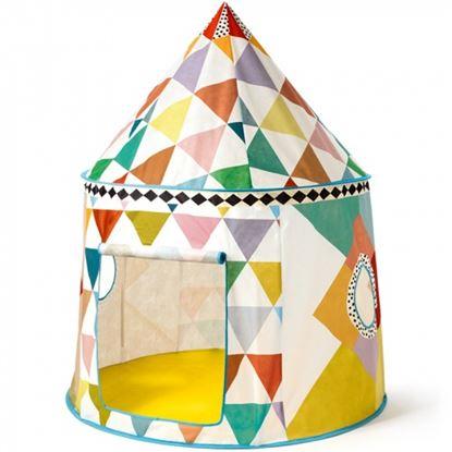 Immagine di tenda giocattolo multicolore