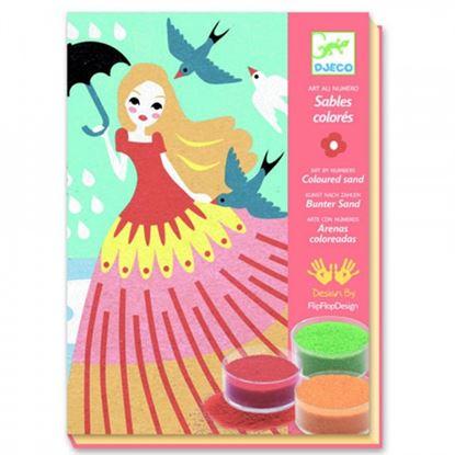 Immagine di sabbie colorate dame
