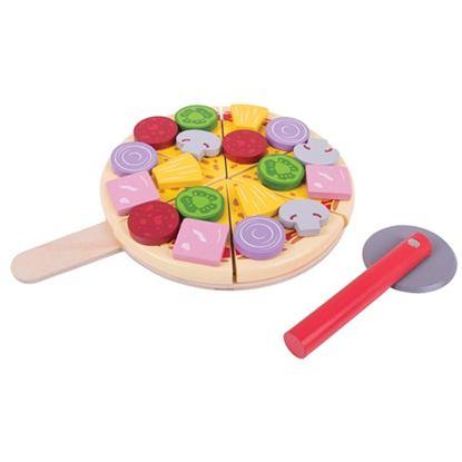 Immagine di pizza da tagliare