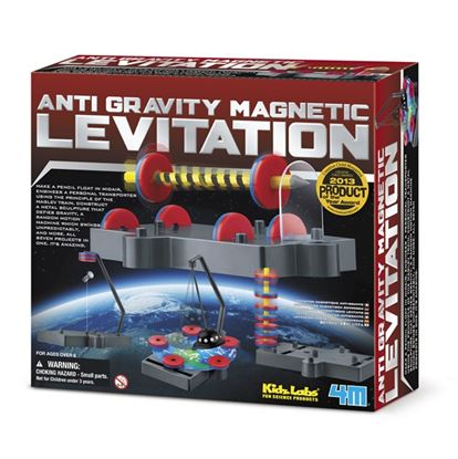 Immagine di scienza magnetica antigravitazionale