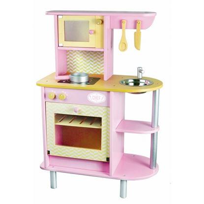 Immagine di cucina giocattolo rosa
