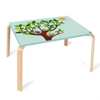 Immagine di tavolino per bambini gufo
