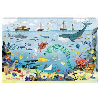 Immagine di puzzle oceano con lente pz 96