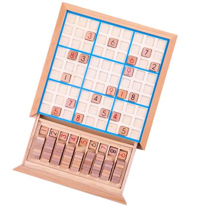 Immagine di sudoku in legno