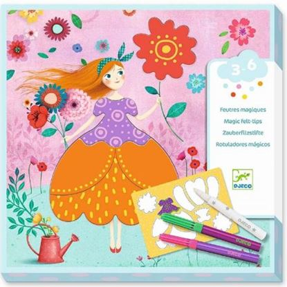 Immagine di pennarelli magici principessa