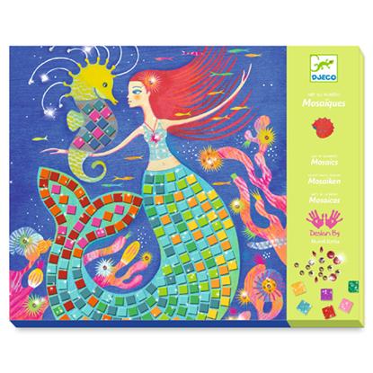 Immagine di mosaico sirene