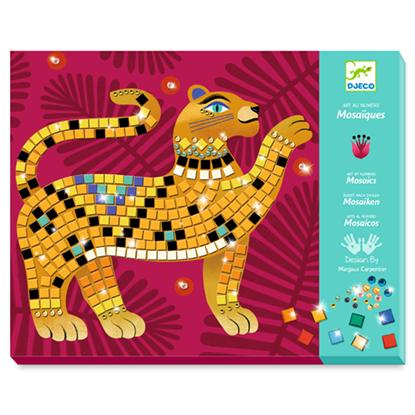 Immagine di mosaico nella giungla