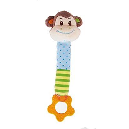 Immagine di sonaglio in stoffa scimmietta