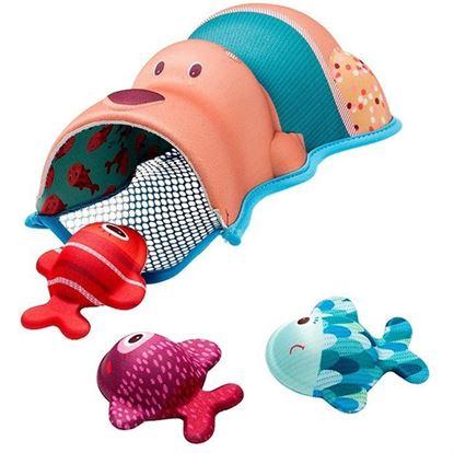 Immagine di gioco bagnetto orsetto e pesci