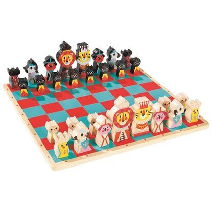 Immagine di scacchiera animali
