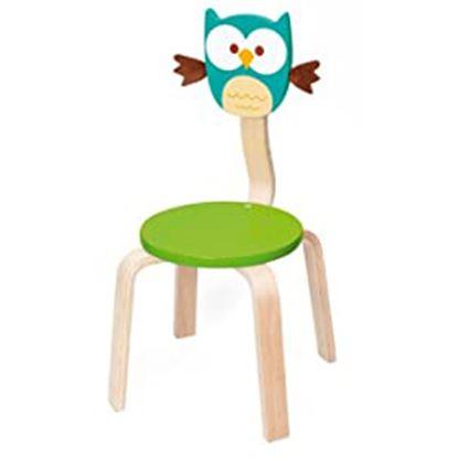 Immagine di sedia per bambini gufo