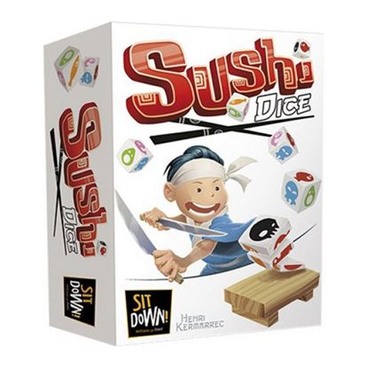 Immagine di sushi dice