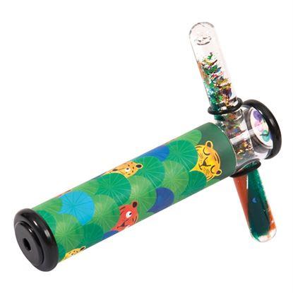 Immagine di caleidoscopio con tubo