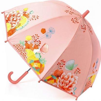 Immagine di ombrellino rosa