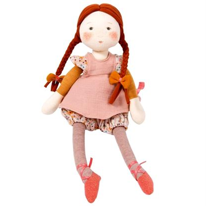 Immagine di bambola di stoffa flora