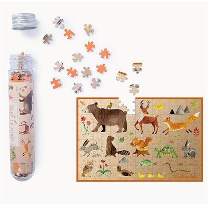 Immagine di Puzzle in provetta animali della foresta pz 150
