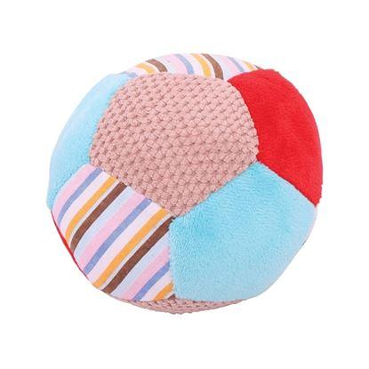 Immagine di palla in stoffa piccola cane