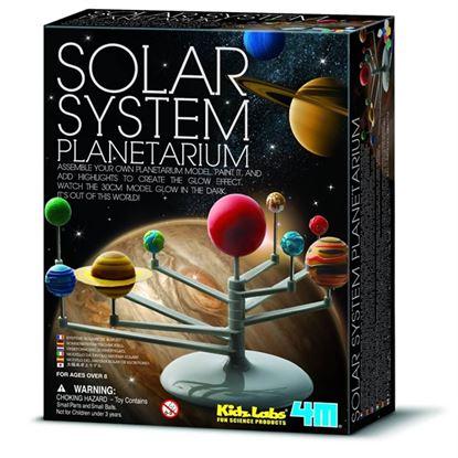 Immagine di sistema solare da costruire