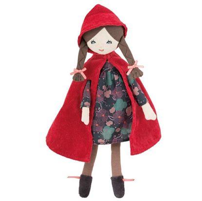 Immagine di bambola cappuccetto rosso