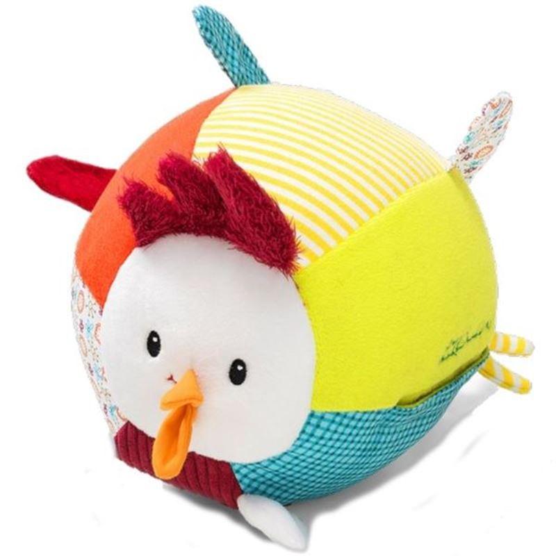 Immagine di palla in stoffa gallina