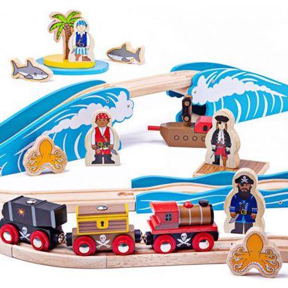 Immagine di pista trenini pirati